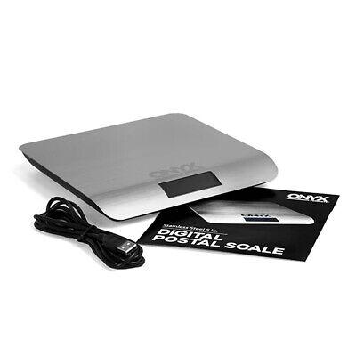 Nib Onyx Digital Postal Scale 5 Pound Lb. Capacity Usb Powered Precise 0.1 Oz