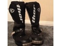 Motor cross boots (child's) size 13