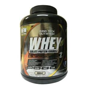 Whey Isolate Protein Powder with Muscle-Protecting, 0-Fat Gym Sport Health Supplement 5lbs Bottle BCAA Amino Acids QOQ10