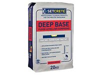 Setcrete Deep Base Floor Levelling Compound X 3!!