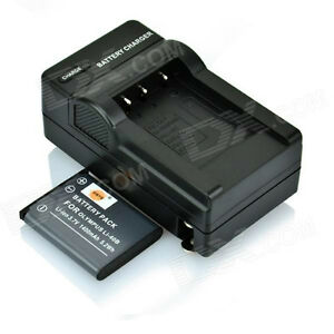 DSTE LI-40B 1400mAh Battery + DC83 US Plug Charger for Olympus F