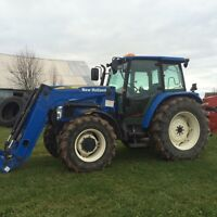 tracteur 2011  new holland