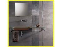 Porcelanosa Ferroker Aluminio Tiles 44X66 cm, 4,3 sqm