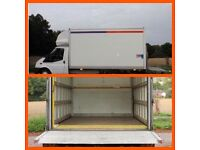 LARGE LUTON VAN MAN REMOVAL SERVICE, LOW COST, PROFESSIONAL TWO MAN TEAM