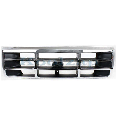 (NEW 92-97 F-Series Pickup Truck Front Grill Grille Assembly FO1200173 F4TZ8200A)
