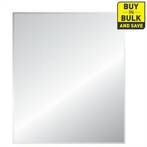 bevelled frameless mirrors