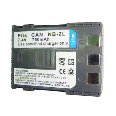 - HZQDLN Battery for Canon NB-2L NB-2LH PowerShot S80 Elura 90 EOS Digital Camera