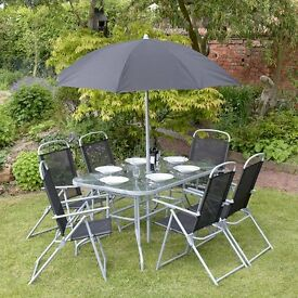 Garden Furniture Eastbourne 7 piece concord hardwood garden furniture set | in eastbourne