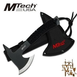 Mtech 8.75'' Throwing Axe Hatchet, Stainless Steel, Camping Hiking Prepper Scout