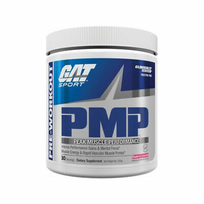 GAT PMP Peak Muscle Performance Pre-Workout Powder 30 Servin