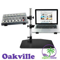 DJ Stand Laptop, Mixer & Studio Equipment Holder Tabletop Mount