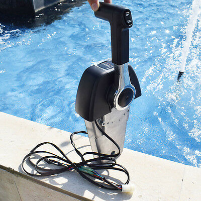 Useful Outboard Engine Binnacle Remote Control Box For Yamaha Console 704 Single