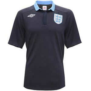 Genuine-Umbro-England-Ladies-Away-Shirt-2011-2012-Navy