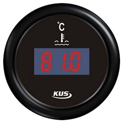 KUS Water Temperature Gauge Digital LED Caravan Truck Boat Marine 25-120 -