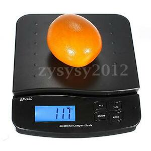 25kg-1g Digital Electronic Kitchen Scales LCD Postal Postage Parcel Post Office