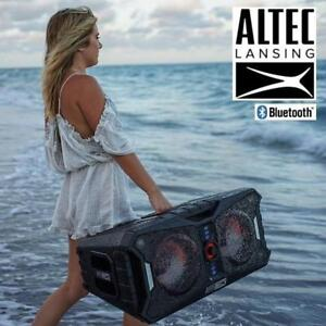 RFB ALTEC LANSING XPEDITION SPEAKER ALP-XP800 212440637 PORTABLE BLUETOOTH WIRELESS XPEDITION 8 REFURBISHED