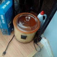 3 litre ceramic crock pot