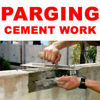 PARGING & CONCRETE SERVICES IN PETERBOROUGH, ONTARIO