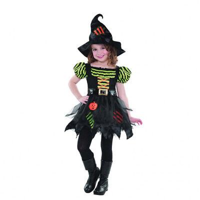KINDERKOSTÜM KÜRBIS HEXE Pumkin Witch  Mädchen  Kinder Karneval Fasching - Mädchen Kürbis Kostüm Hexe