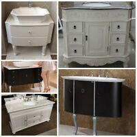 Perfect Vanities for your bathroom renovation.