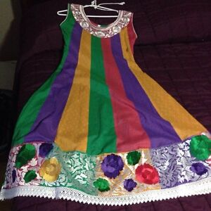BRAND NEW MULTICOLOURED COTTON SUIT MUST SELL RIGHT AWAY! Strathcona County Edmonton Area image 1