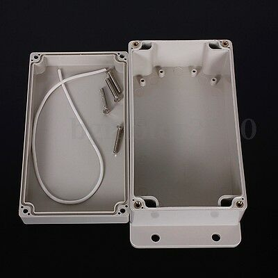 158x90x64mm Plastic Waterproof Cover Clear Electronic Project Box Enclosure Case