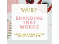 Graphic /logo design Branding That Works Creating a brand your clients will love!