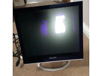 Philips PC monitor with Logitech speakers