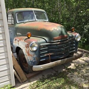 1951 chevy pickup and extras