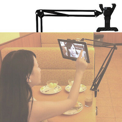 - 360° Rotating Gooseneck Car Floor Seat Mount Holder for iPad 7-12inch Tablet PC