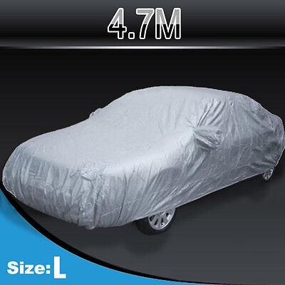 4.7M UNIVERSAL FUNDA CUBIERTA EXTERIOR COCHE ANTILLUVIA POLVO IMPERMEABLE COVER