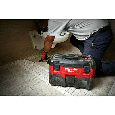 Milwaukee 0880-22 M18 Li-Ion 2 Gal. Wet/Dry Vacuum (Tool Only) New