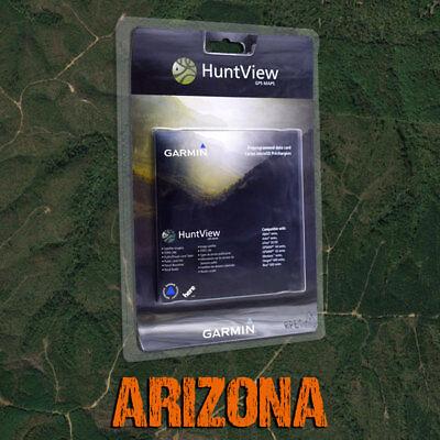 Garmin HuntView Maps - Arizona - Topo for Alpha, Astro, eTrex, GPSMAP, Rino