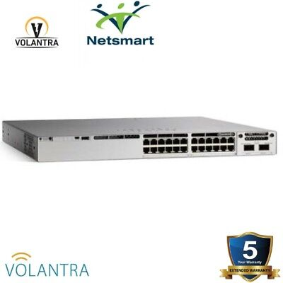 Cisco C9300-48P-A Catalyst 9300 48-port PoE+, Network Advantage 1-Year Warranty