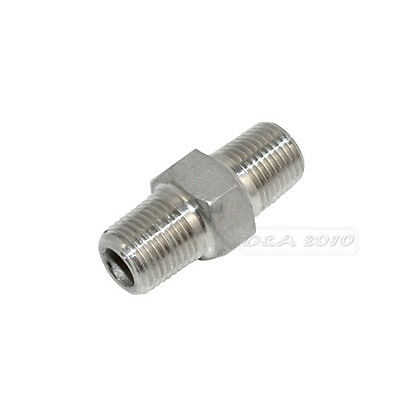 Hex Nipple 18 Male X 18 Male 304 Stainless Steel Threaded Pipe Fitting Npt