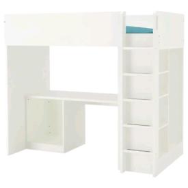 Used IKEA Stuva Cabin bed With desk & wardrobe
