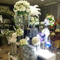 LUXURIOUS WEDDING & EVENT DECOR•ALL IN ONE PLACE•VISIT US!