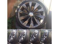 "18"" 5x112 Audi VW seat skoda alloy wheels"