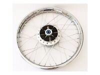 Honda ANF125 INNOVA 2003 - 2011 Wave Brand new Rear Wheel Rim And Cush Rubbers