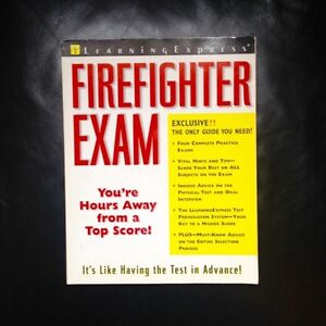 "Firefighter Exam ""Learning Express"""
