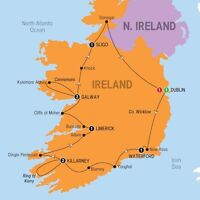 Best of Ireland Locally Escorted Tour April - October, 2016