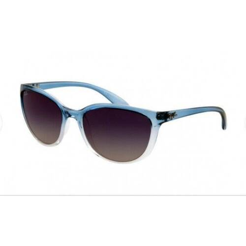 Nib-Womens Billig Erika RB4274 Blau Farbverlauf Rahmen Grau Linse Sonnenbrille