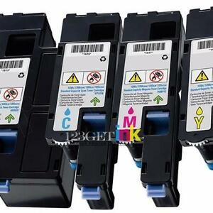 Dell 331-0777/0778/0779/0781 New Compatible High Yield B/C/M/Y Toner Cartridge Combo Set
