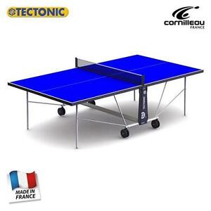 Tectonic (CORNILLEAU) Weatherproof Outdoor Table Tennis Table + Bats Balls Cover