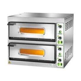 "Electric Pizza Oven 6+6 (12""Pizza) Twin Deck 36"""