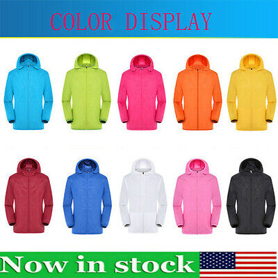 New Men Women Waterproof Windproof Jacket Outdoor Bicycle Sport Rain Coat S-4XL
