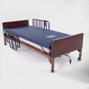 Electric Hospital Bed with Mattress and Bed Trails