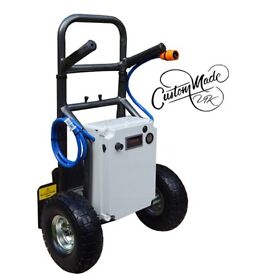 12v remote 2 setting window cleaning trolley by custommadeuk