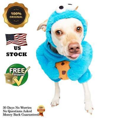 Halloween Costumes for Dogs Cookie Monster Sesame Street XLarge FREE SHIPPING