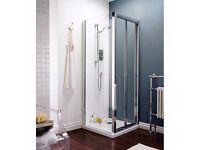 Premier AQBD7 Pacific Bi-Fold Shower door - 700mm